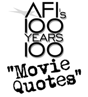 kestrels nest afi 100 years 100 quotes