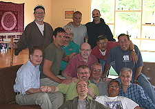 The Art of Powerful Living coaching retreat, July 2002